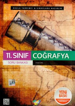 FDD Yayınları 11. Sınıf Coğrafya Soru Bankası
