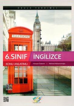 FDD Yayınları 6. Sınıf İngilizce Konu Anlatımlı