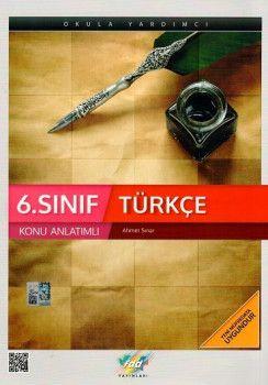 Fdd Yayınları 6. Sınıf Türkçe Konu Anlatımlı
