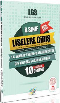FDD Yayınları 8. Sınıf LGS T.C. İnkılap Tarihi ve Atatürkçülük Din Kültürü ve Ahlak Bilgisi 10 Deneme