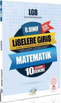 FDD Yayınları 8. Sınıf LGS Matematik 10 Deneme