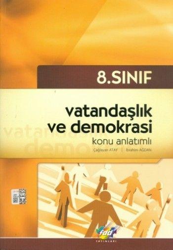FDD Yayınları 8. Sınıf Vatandaşlık ve Demokrasi Konu Anlatımlı