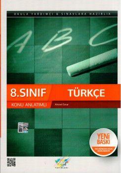 FDD Yayınları 8. Sınıf Türkçe Konu Anlatımlı