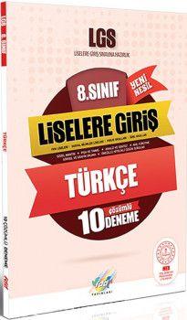 FDD Yayınları 8. Sınıf LGS Türkçe 10 Deneme