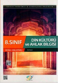 FDD Yayınları 8. Sınıf Din Kültürü ve Ahlak Bilgisi Konu Anlatımlı