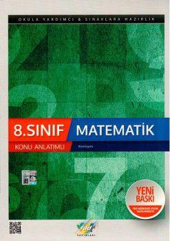 FDD Yayınları 8. Sınıf Matematik Konu Anlatımlı