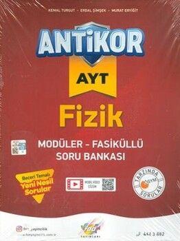 Fdd Yayınları AYT Fizik Antikor Modüler Fasiküllü Soru Bankası