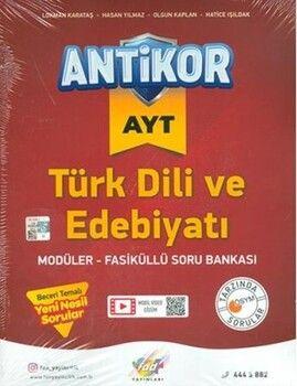 Fdd Yayınları AYT Türk Dili ve Edebiyatı Antikor Modüler Fasiküllü Soru Bankası