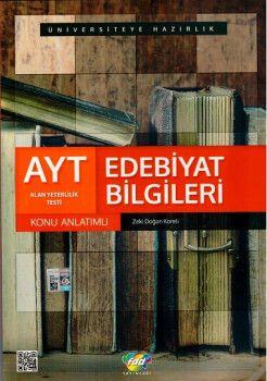 FDD Yayınları AYT Edebiyat Bilgileri Konu Anlatımlı