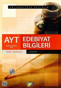 Fdd Yayınları AYT Edebiyat Bİlgileri Soru Bankası