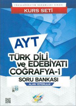 FDD Yayınları AYT Türk Dili ve Edebiyatı Coğrafya 1 Soru Bankası