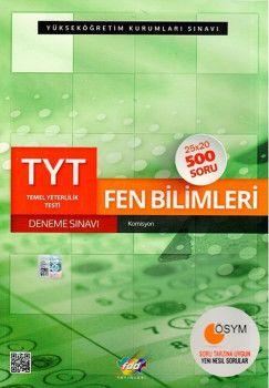 FDD Yayınları TYT Fen Bilimleri Deneme Sınavı