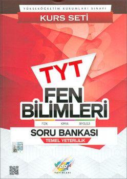 FDD Yayınları TYT Fen Bilimleri Soru Bankası