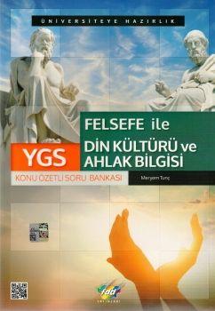 FDD Yayınları YGS Felsefe ile Din Kültürü ve Ahlak Bilgisi Konu Özetli soru Bankası