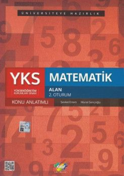 FDD Yayınları YKS 2. Oturum Matematik Alan Konu Anlatımlı