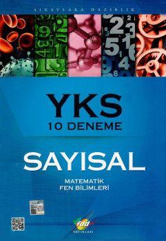 FDD Yayınları YKS 2. Oturum Sayısal 10 Deneme