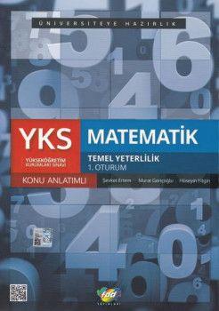 FDD Yayınları YKS 1. Oturum TYT Matematik Konu Anlatımlı