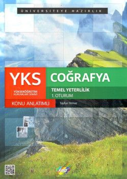 FDD Yayınları YKS 1. Oturum TYT Coğrafya Konu Anlatımlı