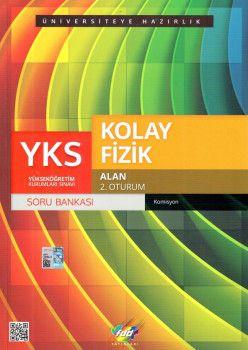 FDD Yayınları YKS 2. Oturum Alan Kolay Fizik Soru Bankası