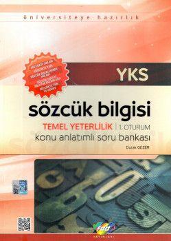 FDD Yayınları YKS 1. Oturum TYT Sözcük Bilgisi Konu Anlatımlı Soru Bankası