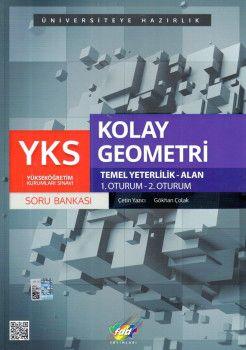 FDD Yayınları YKS 1. ve 2. Oturum TYT Kolay Geometri Soru Bankası