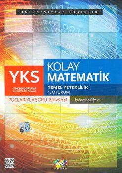 FDD Yayınları YKS 1. Oturum TYT İpuçlarıyla Kolay Matematik Soru Bankası