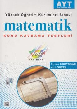 FDD Yayınları YKS 2. Oturum AYT Matematik Konu Kavrama Testleri