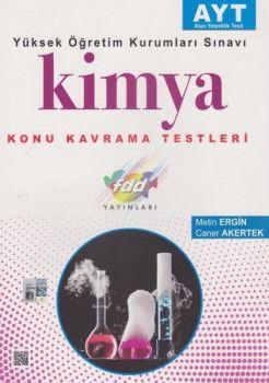 FDD Yayınları YKS 2. Oturum AYT Kimya Konu Kavrama Testleri