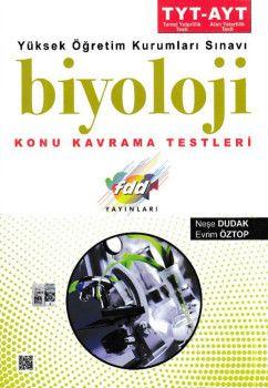 FDD Yayınları YKS 1. ve 2. Oturum TYT AYT Biyoloji Konu Kavrama Testleri