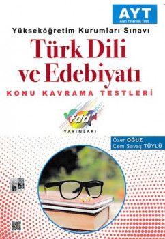 FDD Yayınları YKS 2. Oturum AYT Türk Dili ve Edebiyatı Konu Kavrama Testleri