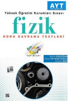 FDD Yayınları YKS 2. Oturum AYT Fizik Konu Kavrama Testleri