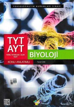 FDD Yayınları YKS 1. ve 2. Oturum TYT AYT Biyoloji Konu Anlatımlı
