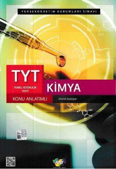 FDD Yayınları YKS 1. Oturum TYT Kimya Konu Anlatımlı