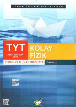 FDD Yayınları YKS 1. Oturum TYT Kolay Fizik Konu Özetli Soru Bankası