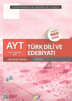 FDD Yayınları YKS 2. Oturum AYT Türk Dili ve Edebiyatı 40x24 Deneme Sınavı