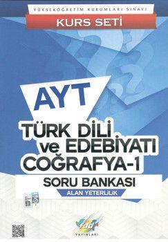 FDD Yayınları YKS 2. Oturum AYT Türk Dili ve Edebiyatı Coğrafya 1 Soru Bankası
