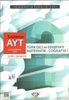 FDD Yayınları YKS 2. Oturum AYT 3 Adımda Türk Dili ve Edebiyatı Coğrafya 1 Soru Bankası