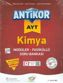 Fdd YayınlarıAYT Kimya Antikor Modüler Fasiküllü Soru Bankası