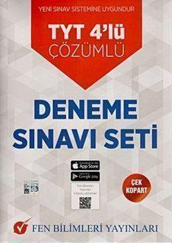 Fen Bilimleri Yayınları TYT 4lü Çözümlü Deneme Sınavı Seti
