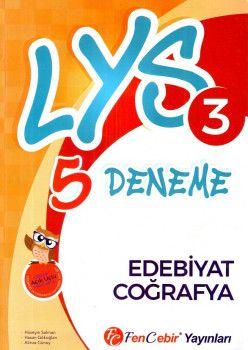 FenCebir Yayınları LYS 3 Edebiyat Coğrafya 5 Deneme