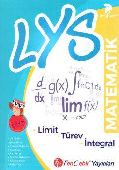 FenCebir Yayınları LYS Matematik Limit Türev İntegral Soru Bankası