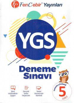 FenCebir Yayınları YGS Tamamı Çözümlü 5 Deneme Sınavı