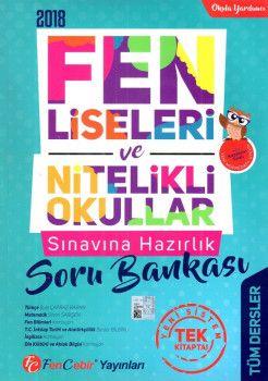 FenCebir Yayınları 8. Sınıf Fen Liseleri ve Nitelikli Okullar Sınavına Hazırlık Tüm Dersler Soru Bankası
