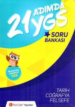 FenCebir Yayınları YGS 21 Adımda Sözel Soru Bankası