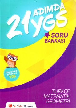 FenCebir Yayınları YGS 21 Adımda Eşit Ağırlık Soru Bankası