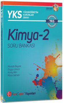 FenCebir Yayınları YKS 2. Oturum AYT Kimya 2 Soru Bankası