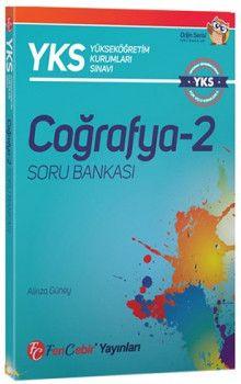 FenCebir Yayınları YKS 2. Oturum AYT Coğrafya 2 Soru Bankası