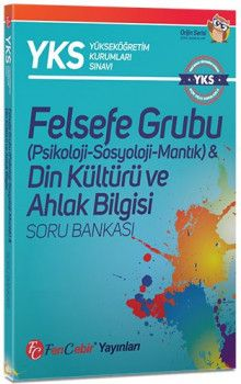 FenCebir Yayınları YKS 2. Oturum AYT Felsefe Grubu Din Kültürü ve Ahlak Bilgisi Soru Bankası