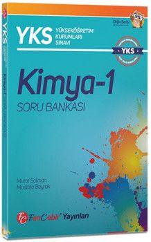FenCebir Yayınları YKS 1. Oturum TYT Kimya 1 Soru Bankası