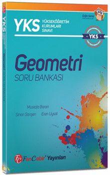 FenCebir Yayınları YKS 1. ve 2. Oturum TYT AYT Geometri Soru Bankası